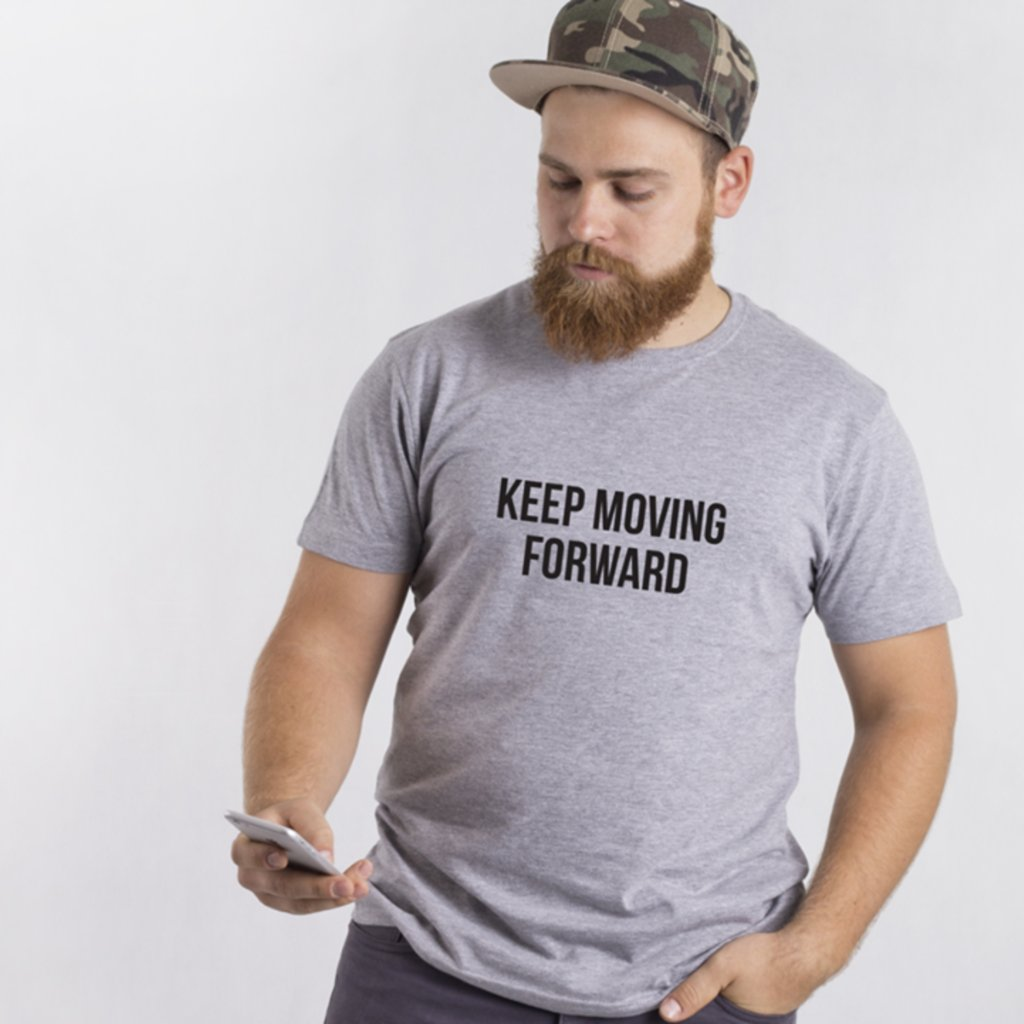 Pánské tričko Keep Moving Forward